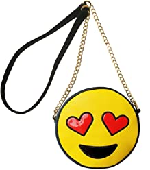 Olivia Miller Emoji Bag Crossbody Handbag with Shoulder Chain Strap