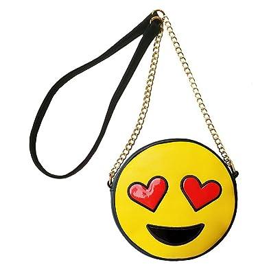 Amazon.com: Olivia Miller Emoji bolsa crossbody bolso ...
