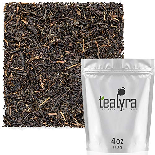 Tealyra - Japanese Black Tea - Rare Wakoucha Kagoshima Black Tea from Japan - Loose Leaf Tea - Unique Taste - Perfect Morning Tea - Bold Caffeine - Organically Grown - Japan Kagoshima