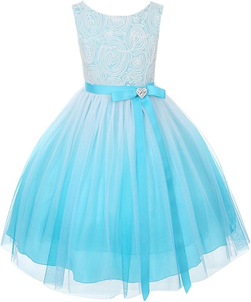 Ombre Flower Girls Latest item Big Girls' Graduation Pageant Dress Dresses 5 popular