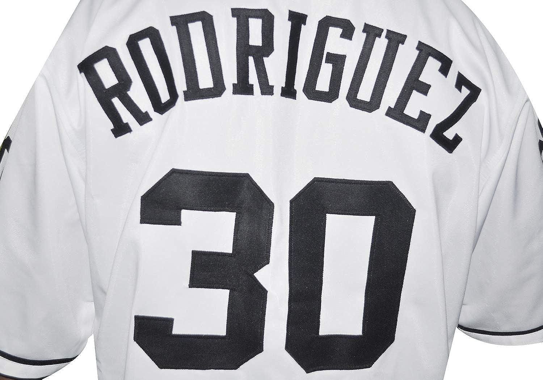 Stitch Vitar Benny The Jet Rodriguez 30 Black Baseball Jersey Sandlot