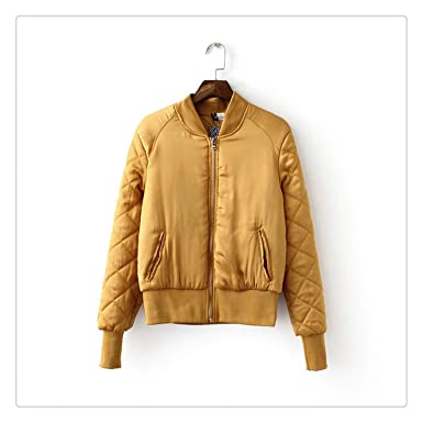 Amazon.com: Haiyinqux Winter Bomber Jacket Women Aviator ...