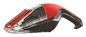 Dirt Devil Handheld Cleaner Quick Flip 12 Volt Lithium Cordless Red Hand Vacuum BD30015