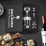 Best Wine Opener Set with Corkscrew - Foil Cutter