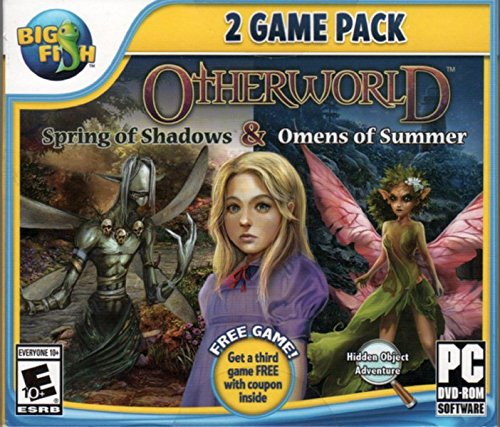 OTHERWORLD: OMENS OF SUMMER + SPRINGS OF SHADOWS Hidden Object 2 PACK DVD-ROM PC game by Activision
