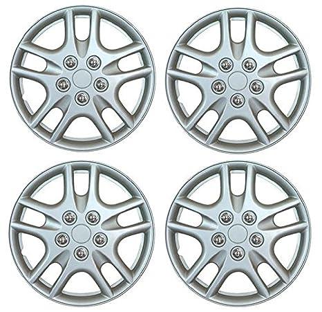 "Set de 4 tapacubos 14 ""plata/Hub Caps para Ford Focus Mondeo Fiesta"