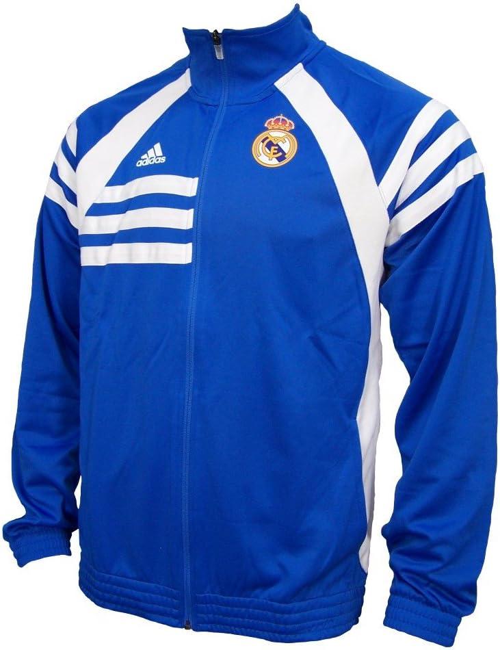 Adidas real madrid Chaqueta Air Force Blue/ White D80311 - ***Es ...