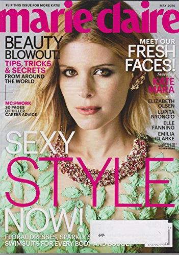 Marie Claire May 2014 Kate Mara Cover Sexy Style Now