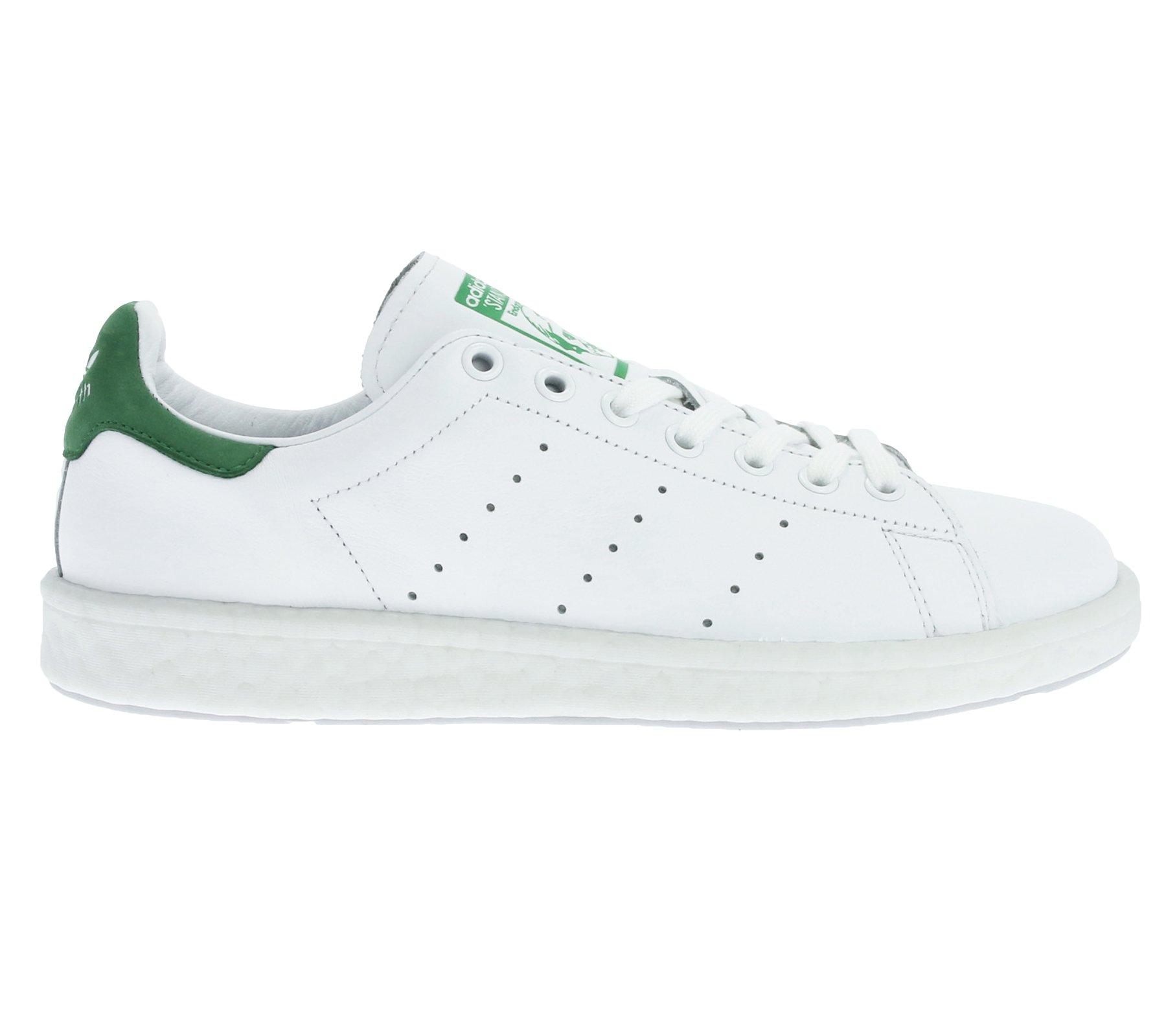 Adidas Schuhe Stan Smith Boost Herren footwear white-footwear white-green (BB0008), 42, weiss