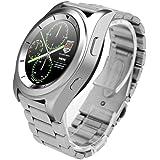 Hunpta G6 Smart Watch Wrist Mode Kamera Herzfrequenz für iOS Android (Silber)