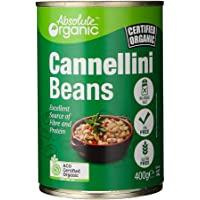 Absolute Organic Organic Cannellini Beans Tinned , 400g