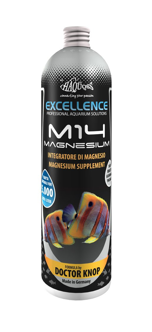 Haquoss M14 Magnesium Magnesio líquido para acuarios de Barrera, 250 ML: Amazon.es: Productos para mascotas