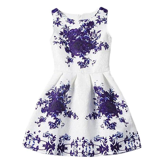 KiwiTwo Vestido del traje Pinzessin con lentejuelas flores de lentejuelas regalos del vestido de la flor