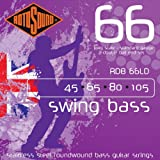 Rotosound RDB66LD Swing Bass 66 Stainless Steel Double Ball End Bass Guitar Strings