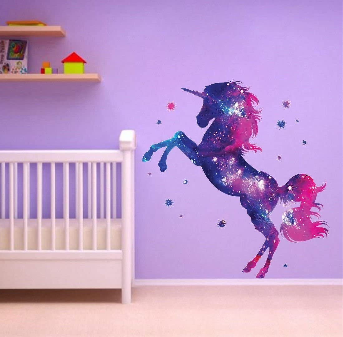 unicorn-with-star-wall-painting