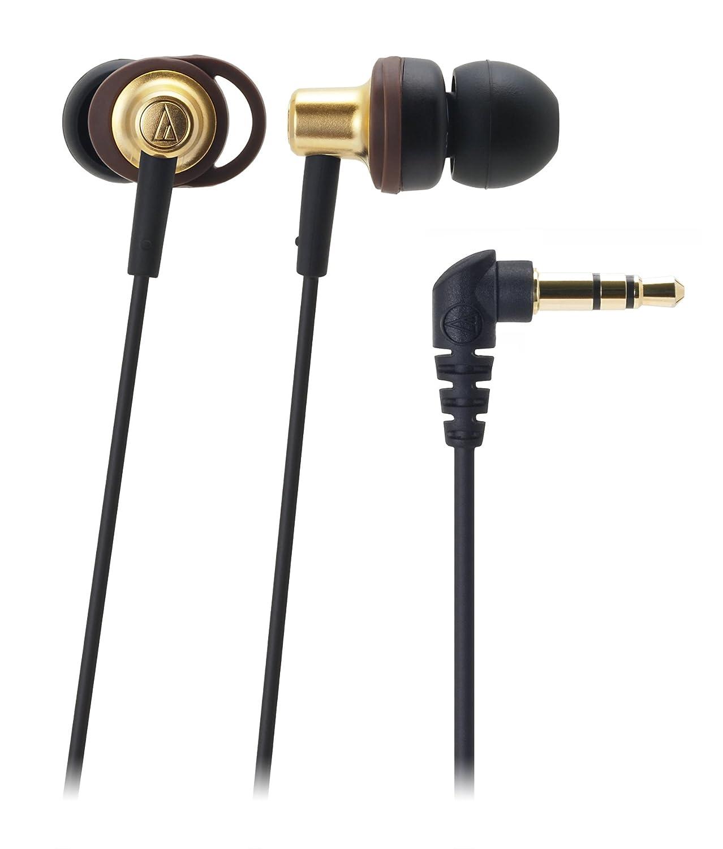 audio-technica LOOP SUPPORT カナル型イヤホン ブラウン ATH-CK505M BW B008BMX18W ブラウン
