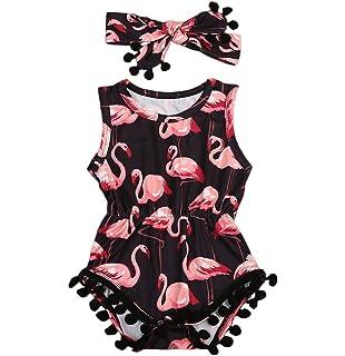 Amazon.com: Bebés, niñas, vestido de verano de vestido de ...