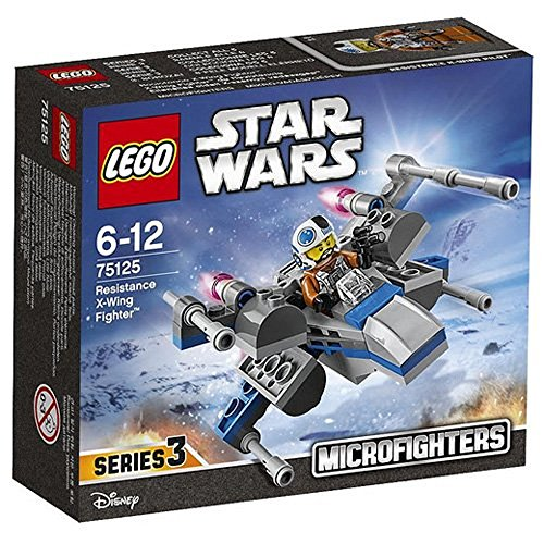 Lego Star Wars Microfighters Series Resistance X-Wing Fighter (75125)