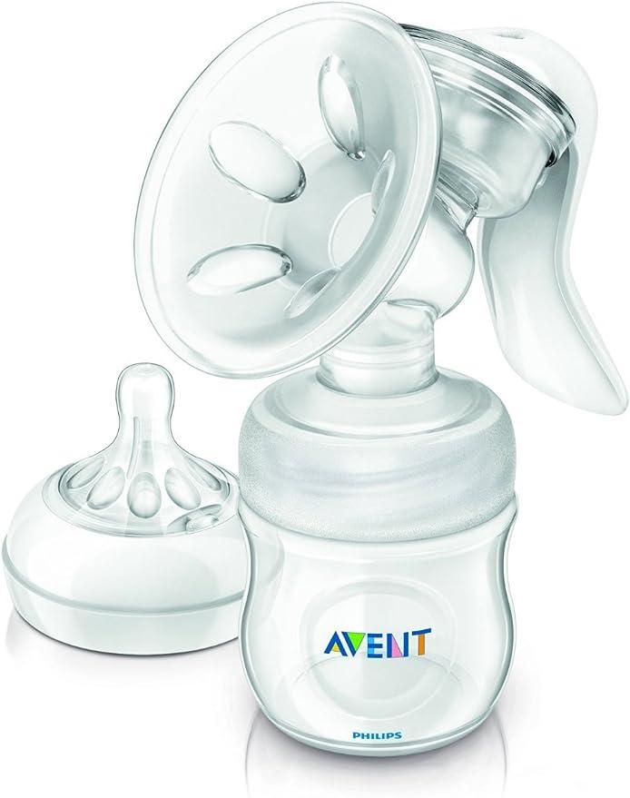 PHILIPS AVENT SCF330//20 Confort Naturel Manuel breast pump /& Bouteille BPA Libre