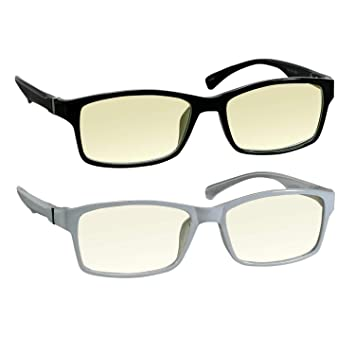 734b41bb712 Computer Reading Glasses 1.75 Black White Protect Your Eyes Against Eye  Strain