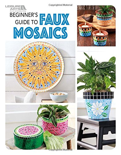 Mosaic Scrapbooking Paper - Beginners Guide to Faux Mosaics | Crafting | Leisure Arts (7063)