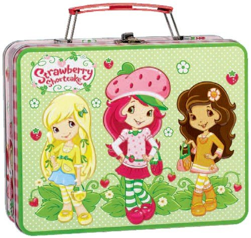 Strawberry Shortcake Party Supplies Metal Lunch Box
