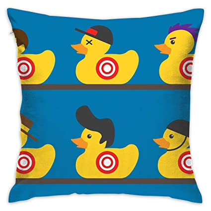 Amazon Com Feim Ao Rubber Duck Target Decorative Throw Pillow