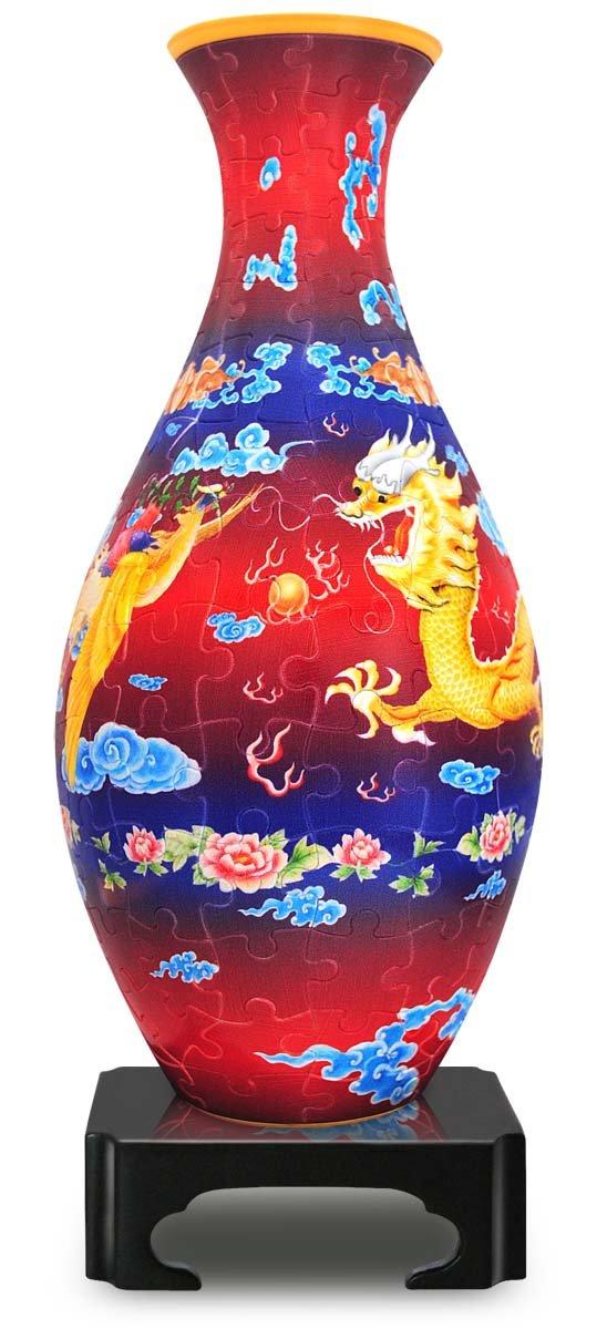online barato the Dragon y y y la Phoenix: 3D Rompecabezas Puzzle Vase Pintoo 160 piezas S1002  saludable