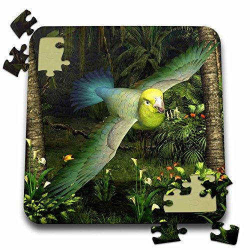 Boehm Birds Game (3dRose Boehm Graphics Bird - Yellow-Faced Parrotlet - 10x10 Inch Puzzle (pzl_60749_2))