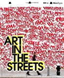 Front cover for the book Art in the Streets by Jeffrey Deitch