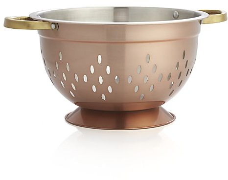 Copper Colander in Colanders & Salad Spinners | Crate and Barrel