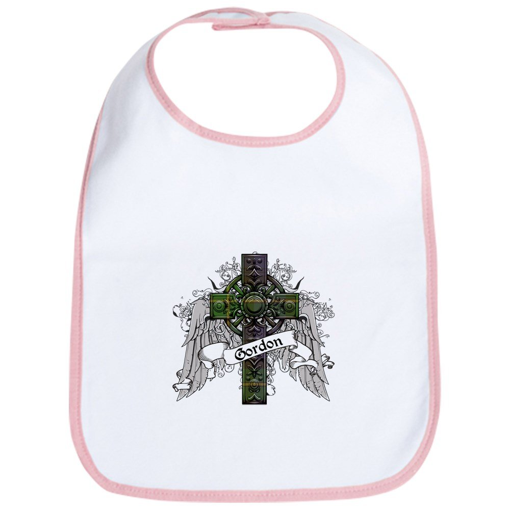CafePress - Gordon Tartan Cross - Cute Cloth Baby Bib, Toddler Bib