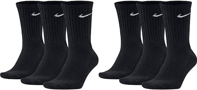 Nike SX4508 Lot de 6 paires de chaussettes pour homme et