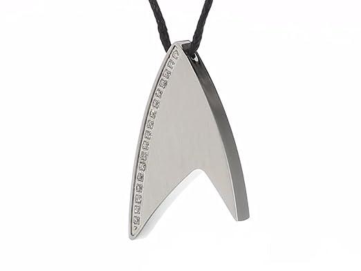 Amazon.com: Collar con Colgante de acero inoxidable Crystal ...