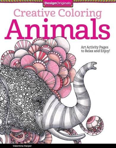 Creative Coloring Animals: Art Activity Pages to Relax and Enjoy! (Design Originals)