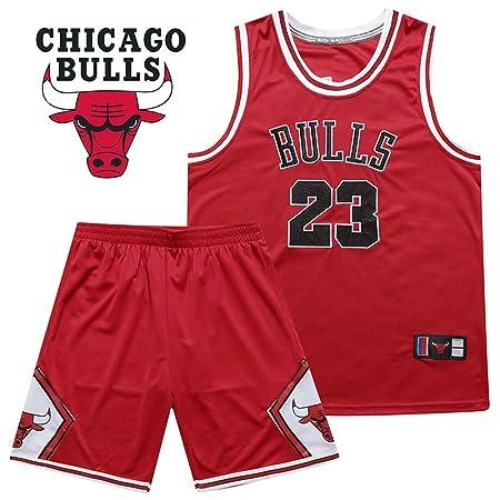 LSYR Conjunto de Jersey de Hombre Bulls 23 Michael Jordan ...