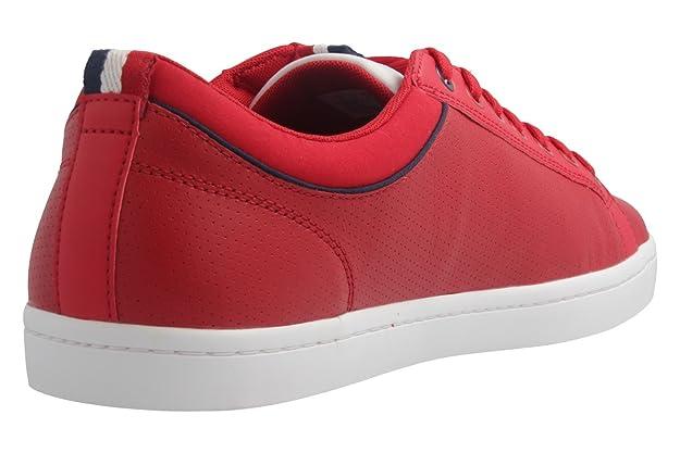 Lacoste, Scarpe da Skateboard uomo rosso Rot, rosso (Rot), 47