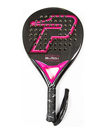 POWER PADEL Pala de Padel Modelo Black Brillo II Fucsia ...