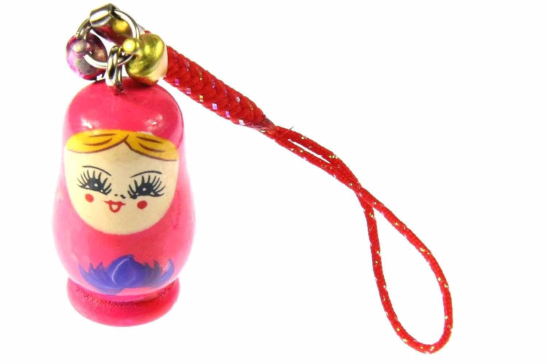 Matroschka babushka móvil colgante Rusia muñeca madera Bell ...