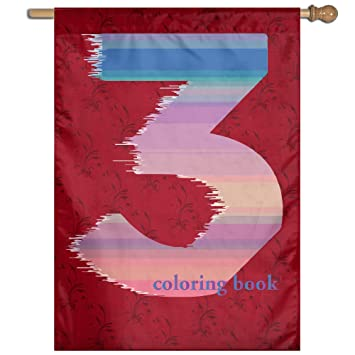 Sport Party Flag Banner Chance The Rapper Coloring Book 3 Flag Sing