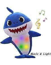 Requin De Bébé Officiel Chanter En Peluche, Enjoyfeel Doux Musique Sonore Bébé Poupée En Peluche Peluche Jouets Chanter Chanson Anglais pour Garçon Fille