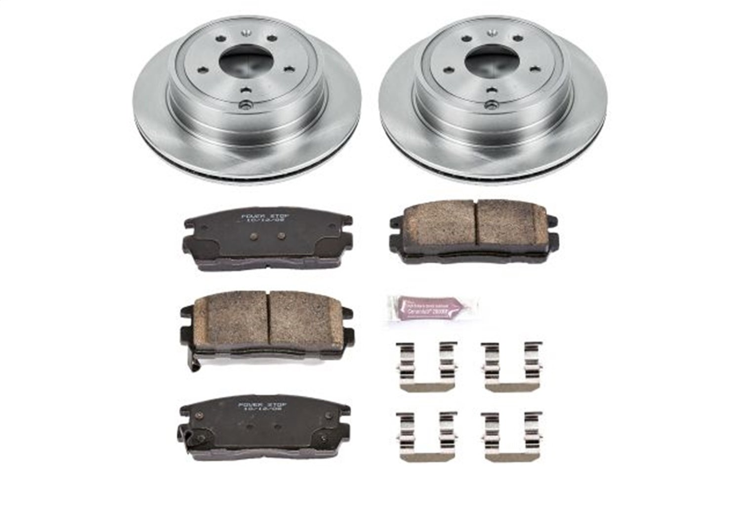 Autospecialty KOE2092 1-Click OE Replacement Brake Kit Power Stop