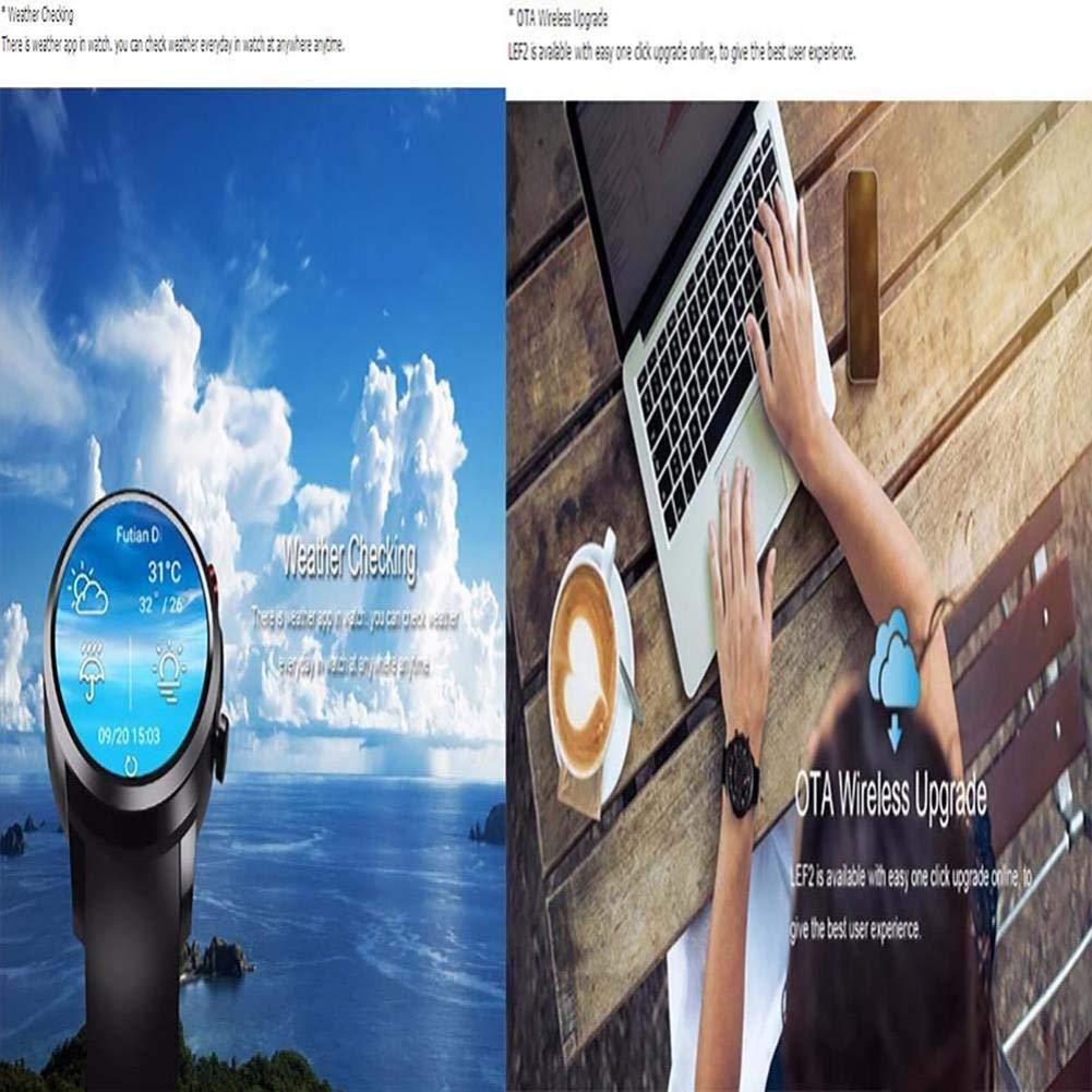 FKYHU Rastreador de Ejercicios Smart Watch 5.1 Android Modo Dual ...