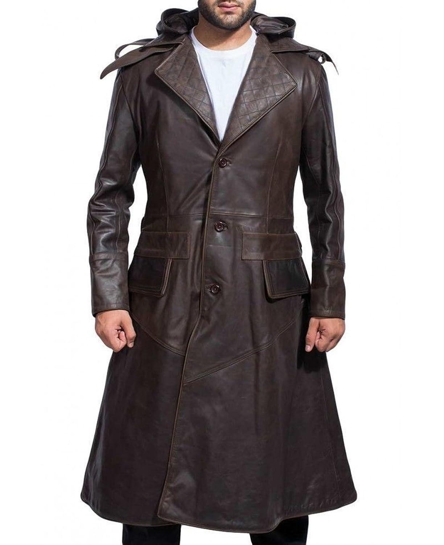 Premium Leather Products OUTERWEAR メンズ B0796QQC6M M