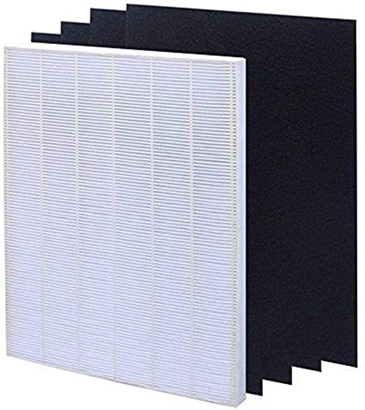 Aoile - Juego de filtros de Aire para Filtro de Aire HEPA + 4 filtros de carbón Activado de Repuesto Winix 115115: Amazon.es: Hogar
