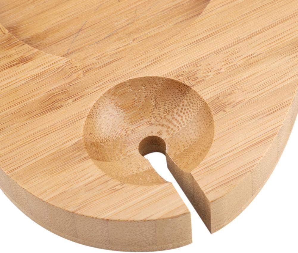 EBTOOLS Mensola per Vasca da Bagno Ripiano in bambù Vasca da