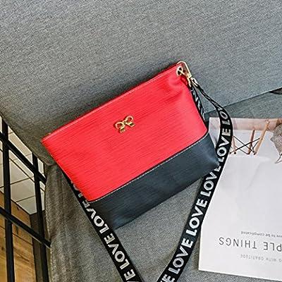 Kingfansion Ladies Leather Leisure Travel Work Shoulder Messenger Bag Messenger Bag Wallet