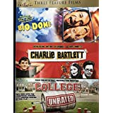 3 - Feature Film Set - Bio-Dome / Charlie Bartlett / College unrated DVD