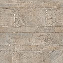 NuWallpaper NU2237 Sandstone Wall Peel and Stick Wallpaper, Beige