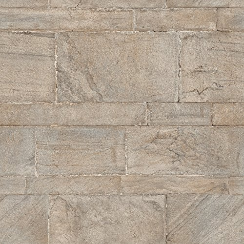 NuWallpaper NU2237 Sandstone Wall Peel and Stick Wallpaper, Beige